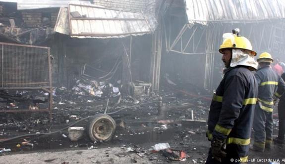 Bağdat'ta saldırı: Çok sayıda ölü var