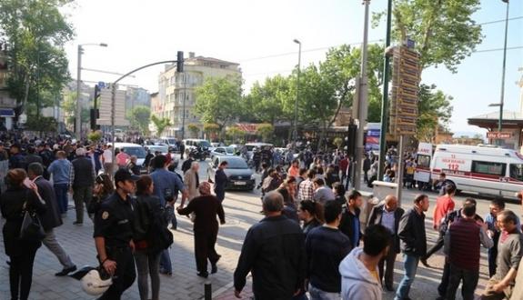 Bursa saldırısıyla ilgili 15 gözaltı
