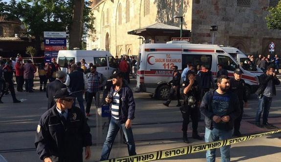 Bursa Valiliği: Patlama, canlı bomba saldırısı