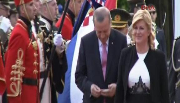 Cumhurbaşkanı Erdoğan'ın Hırvatça ile imtihanı