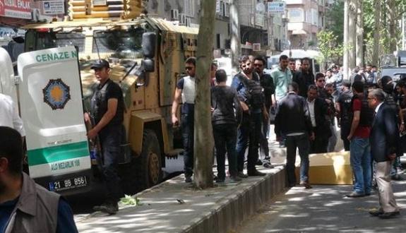Diyarbakır'da gergin dakikalar