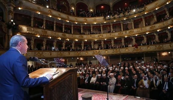 Erdoğan'dan 'samimi birliktelik' çağrısı