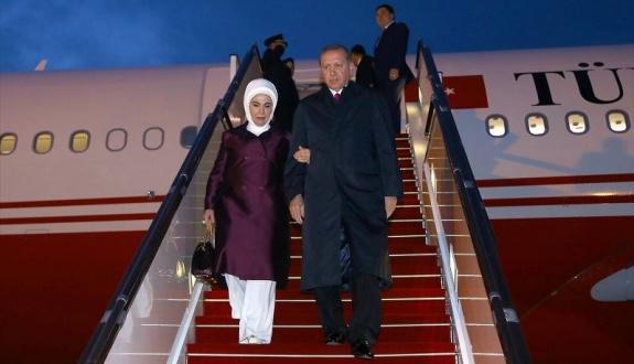 Erdoğan iki kez ertelenen Azerbaycan seyahatinde