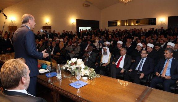 Erdoğan: Laiklik bütün inançlara güvencedir