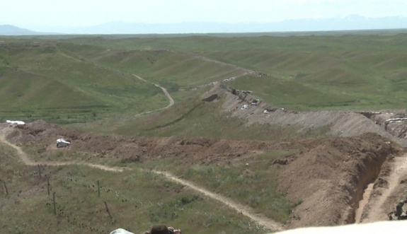Ermeni işgalindeki bir bölge daha geri alındı