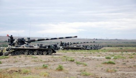 Ermenistan'a ait tank imha edildi