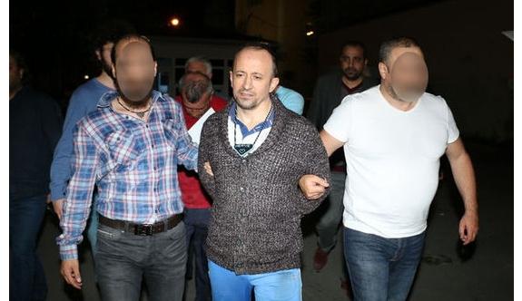 Firari mahkum polis malzemeleriyle yakalandı