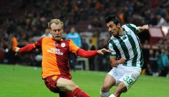 Galatasaray ile Bursaspor 94. maçta karşı karşıya