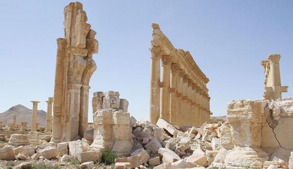 IŞİD Palmira'da büyük hasara yol açtı