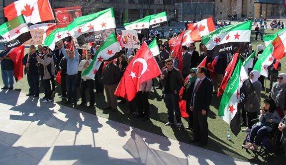 Kanada'da Türkiye'ye teşekkür festivali
