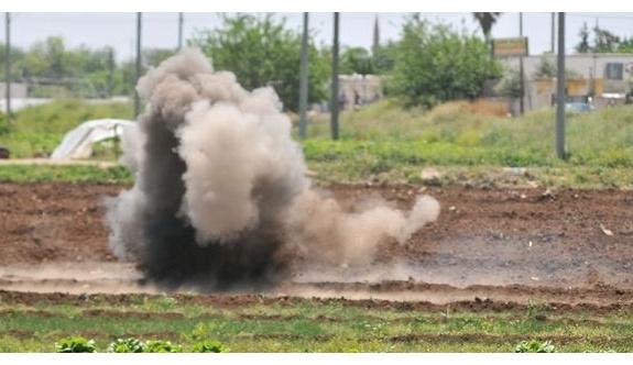 Kilis'e bir roket mermisi daha atıldı