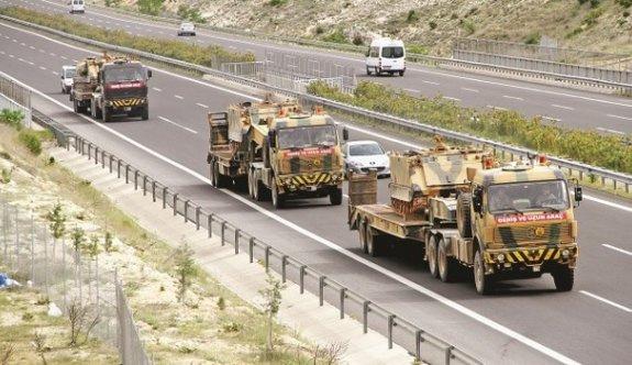 Kilis'ten Suriye'ye müdahale hazırlıkları
