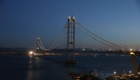 Körfez köprüsüne Osman Gazi adı verildi