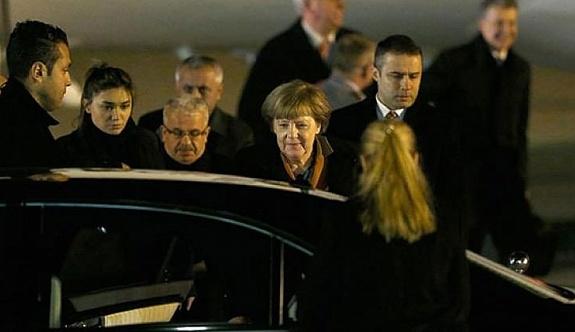 Merkel bugün Türkiye'ye geliyor