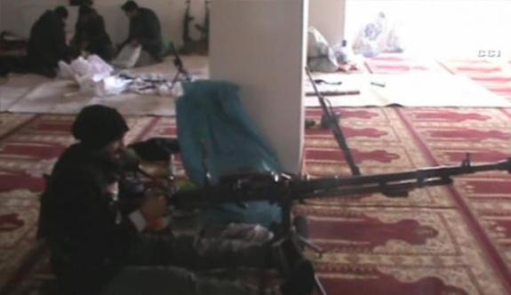 PKK'lılar camiyi karargâha çevirdi | FOTO