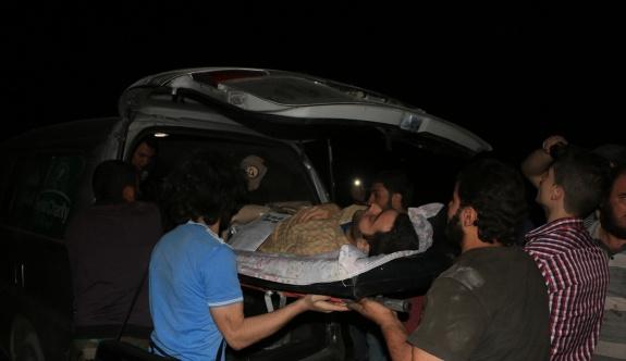 Halep'de zehirli havan topu iddiası