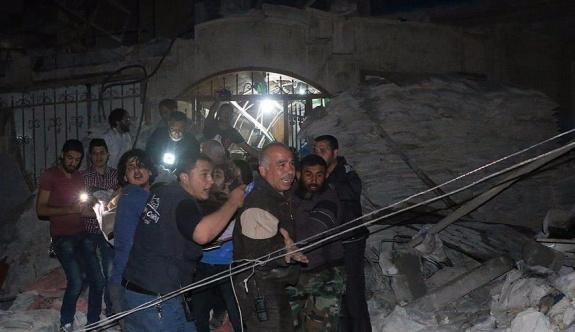Rusya Halep'te sahra hastanesini vurdu: 30 ölü, 62 yaralı