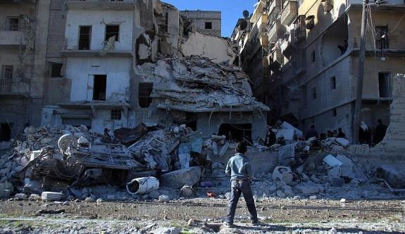 Rusya'nın Halep katliamı Ürdün'de protesto edildi