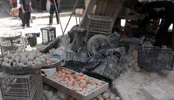 Yine pazar yerini vurdular, 10 sivil öldü