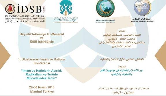 Uluslararası İmam Hatipler Konferansı düzenleniyor