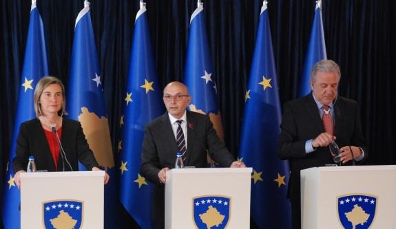 AB Yüksek Temsilcisi Mogherini Kosova'da