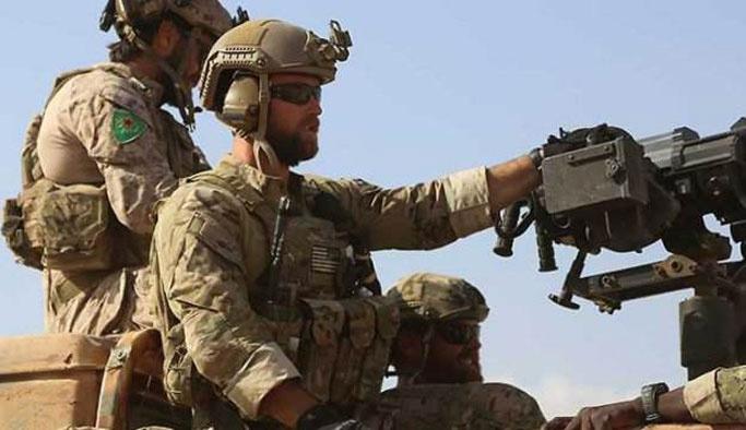 ABD'den 'YPG simgeli askerler' açıklaması