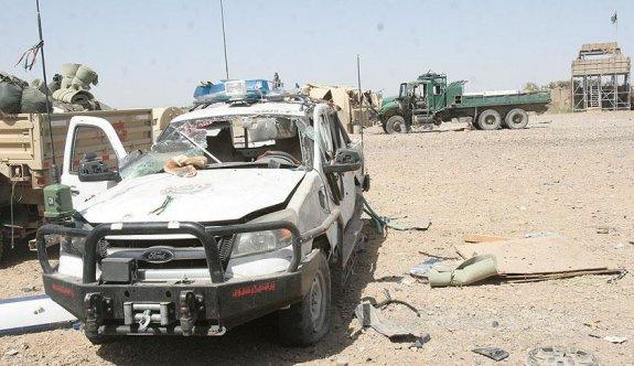 Afganistan Helman'da intihar saldırısı