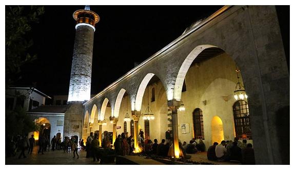 Anadolu'nun ilk camisinde Miraç Kandili
