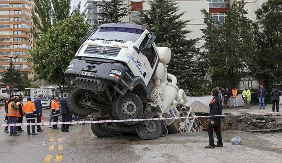 Ankara'da foseptik çukuru kazaları