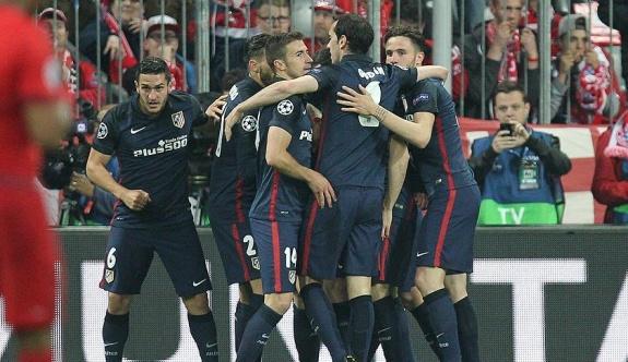 Atletico Madrid yenildi ama finale yükseldi
