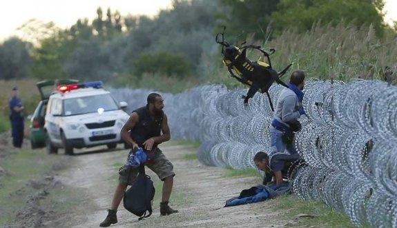 Avrupa sınırında Suriyeli mülteciye silahlı saldırı