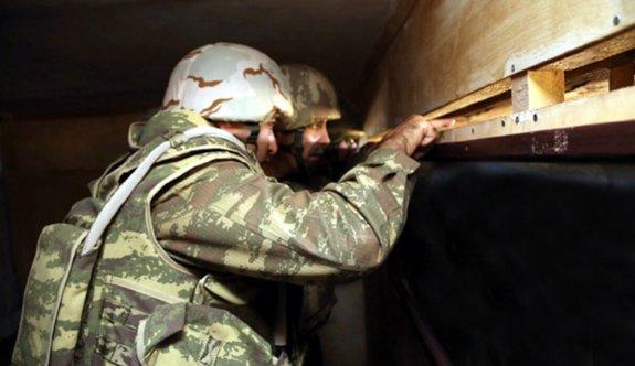 Azerbaycan ordusundan cephe hattında tatbikat