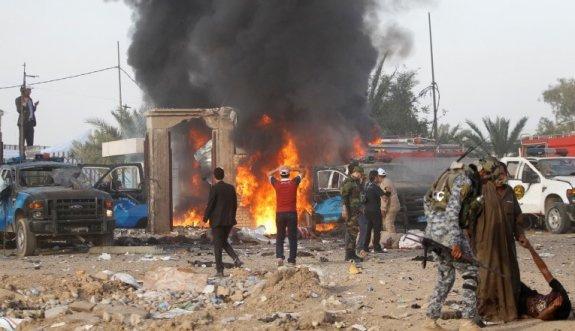 Bağdat'da bombalı saldırı: 50 ölü