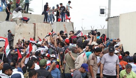 Bağdat Yeşil Bölge'deki işgal devam ediyor