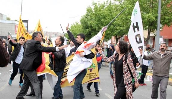 Bakırköy'deki 1 Mayıs öncesi arbede