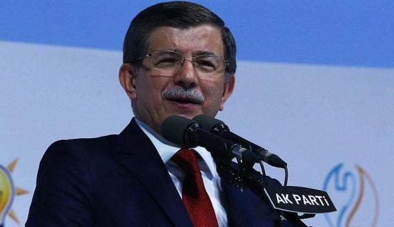 Başbakan Davutoğlu veda konuşmasını yaptı