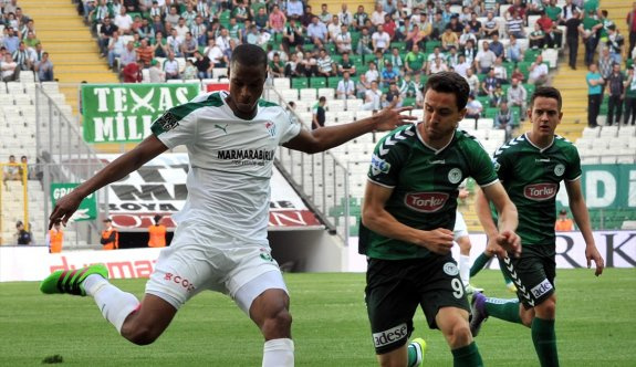 Bursaspor: 1 - Torku Konyaspor: 1 (Maç sonucu)