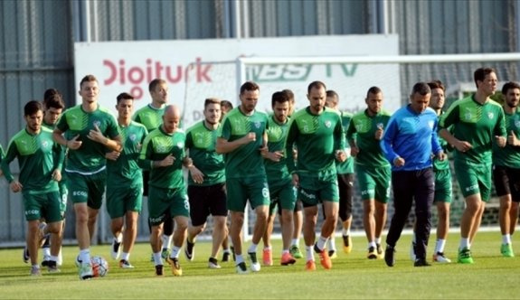Bursaspor'da Torku Konyaspor maçı hazırlıkları