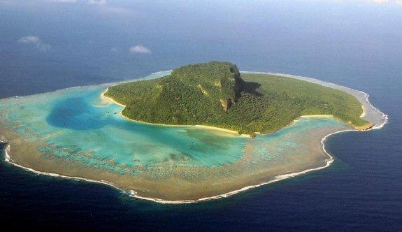 Büyük Okyanus'ta beş tane ada kayboldu