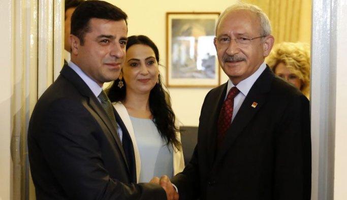 CHP'den HDP'ye: Dağlardan talimat alanlar...