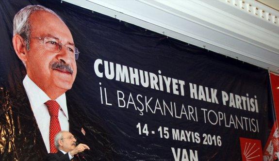 CHP Genel Başkanı Kılıçdaroğlu, Van'da: