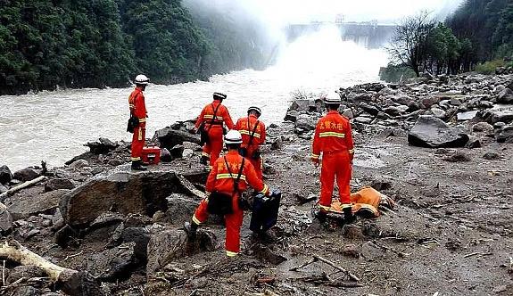 Çin'de heyelan: Onlarca kişi kayıp