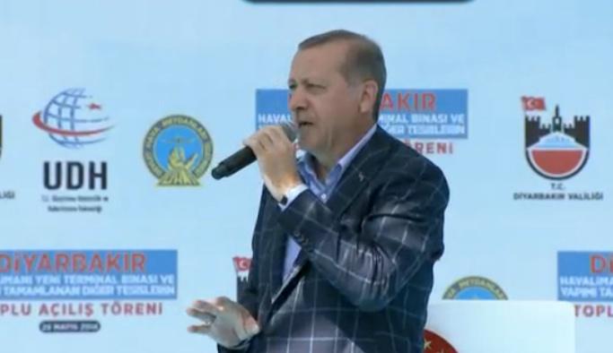 Erdoğan: Amerika'nın PYD'ye desteğini kınıyorum