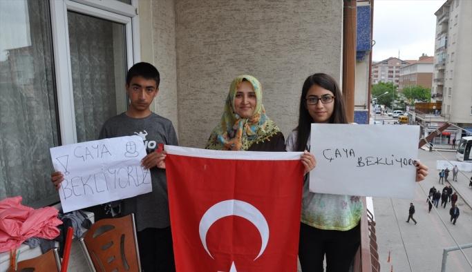 Cumhurbaşkanı Erdoğan'la telefonda görüşen öğrencinin heyecanı
