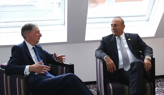 Dışişleri Bakanı Çavuşoğlu Viyana'da