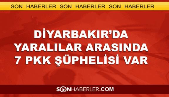 Diyarbakır'da yaralılar arasında PKK şüphelileri de var
