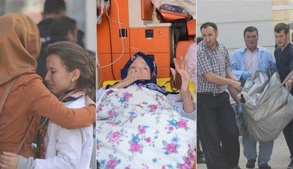 Engelli merkezinde yangın: Bir ölü