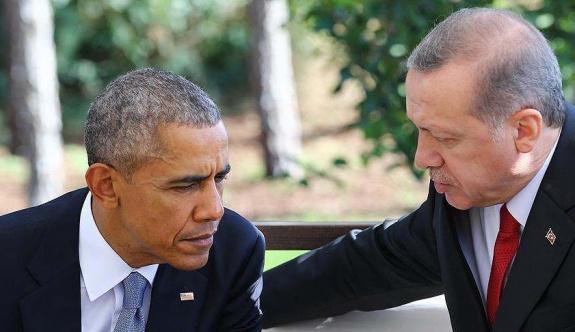 Erdoğan ile Obama telefonda 'terör'ü görüştü