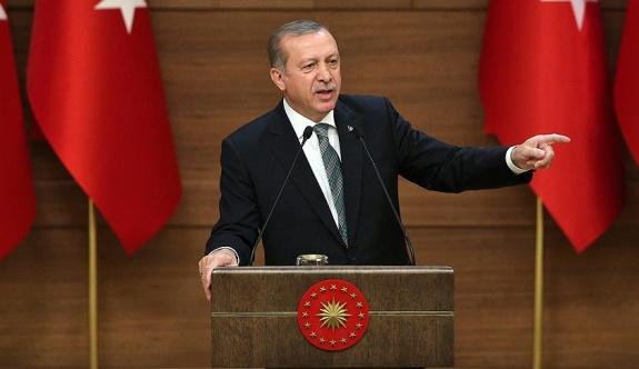 Erdoğan'dan 'makam' vurgulu konuşma
