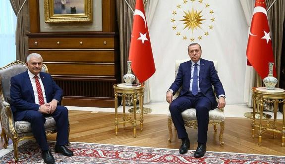 Erdoğan hükümeti kurma görevini Yıldırım'a verdi